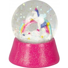 Snow Globe Unicorn Paradise