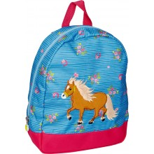 Pony Farm Blue Backpack