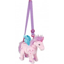 Unicorn Plush Bag -Rosie