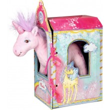 Unicorn Rosie in a Stable
