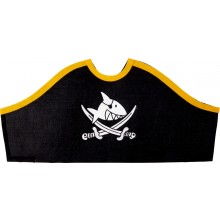 Captn Sharky Pirate Hat