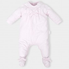 Pink Babygrow with Heart Print (4185)