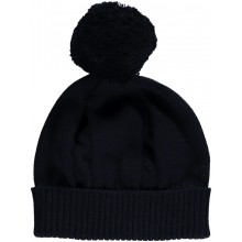 Fuzzy - Navy Bobble Hat