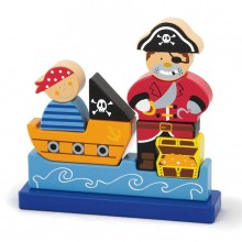 Pirate Magnetic Standing Puzzle