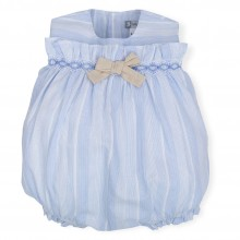Girls Striped Romper - (6385)