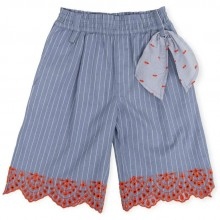 Girls Culottes - Indigo (6844)