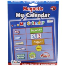 Small Blue Magnetic My Calendar
