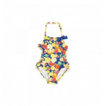 Girls Swim Suit  - Atlantic Blue (8071)