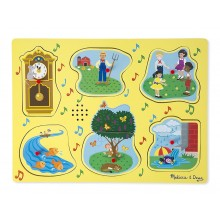 Sing-Along Nursery Rhymes Yellow - Sound Puzzle