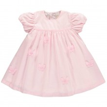Mia - Pink Dress with Butterflies (8352)