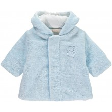 Nicholas - Pale Blue Fleece Coat