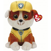 Paw Patrol Beanie Boo - Rubble (Medium)