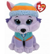 Paw Patrol Beanie Boo - Everest Husky (Medium)