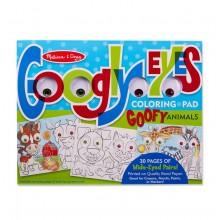 Goofy Animals Colouring Pad