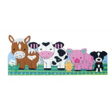 Farm Animals Alphabet Puzzle