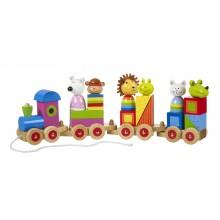 Animal Puzzle Train