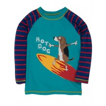 Surfing Dogs Rash Guard