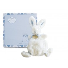 Doudou Rabbit Comforter Blue