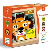 Tournanimo - Wooden Puzzle