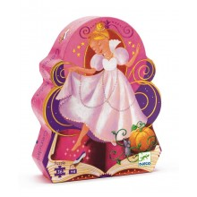 Silhouette Puzzle - Cinderella