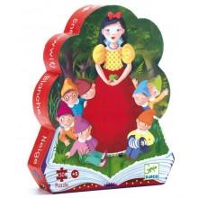 Silhouette Puzzle - Snow White