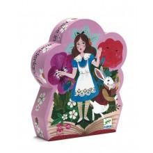 Silhouette Puzzle - Alice in Wonderland