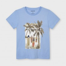 Boys Short Sleeve T-Shirt - Blue (3032)