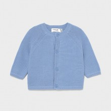 Infant Boys Knitted Cardigan - Sky Blue (1330)