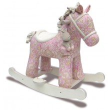 Pixie and Fluff Rocking Horse Rocker
