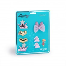 Lucky Doggy - Hair Accessories Set
