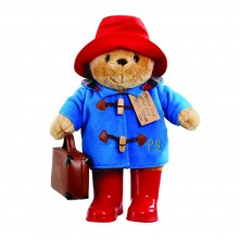 Large Paddington with Boots and Case