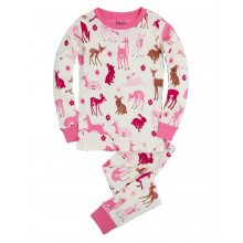 PJ Set - Deer and Bunnies