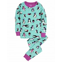 PJ Set (Ovl) - Cool Penguins