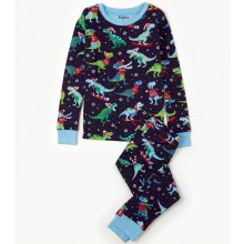 PJ Set - Winter Sport T-Rex Dinosaur