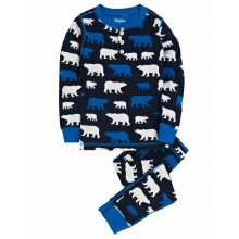 PJ Set - Blue Polar Bears