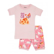 Short PJ Set - Cool Cats