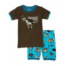 Short PJ Set - Wild Dinos