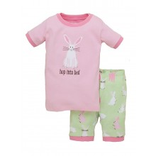 "Short PJ Set - Pretty Bunnies ""Hop into Bed"""