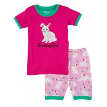Short PJ Set - Spring Bunnies