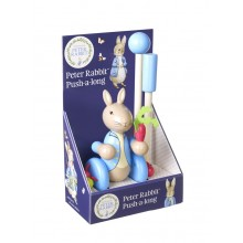 Boxed Push Along  - Peter Rabbit