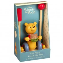 Boxed Push Along - Winnie The Pooh