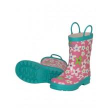 Rainboots - Fresh Flowers