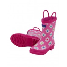 Rainboots - Flower Heart Garden