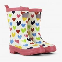 Rainboots - Rainbow Hearts