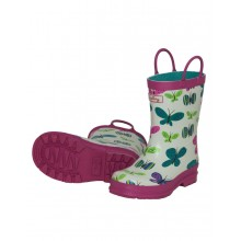 Rainboots - Ditsy Butterfly