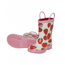 Rainboots - Summer Strawberries