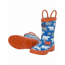 Rainboots - Blue Polar Bear