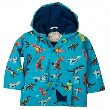 Infant Dinosaur Raincoat - Roaring T-Rex