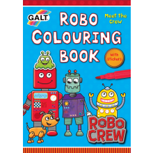 Robo Colouring Book