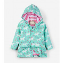Colour Changing Raincoat - Galloping Horses
